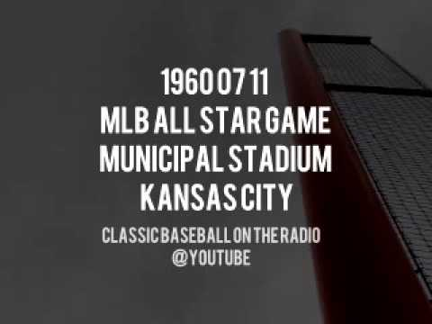 1960 07 11 MLB All Star Game Municipal Stadium Kansas City Radio OTR