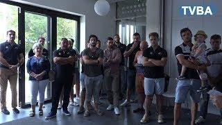 L'UAGM rugby célébrée par Marie Hélène des Esgaulx pour sa montée en Fédérale 2