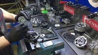 Не оригинальный компрессор кондиционера. Дефектовка. Низкое качество.