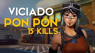 PON PON VAI PRO LOBBY ♪ 15 KILLS (Fortnite Battle Royale free) | [EN-BR]-Softe