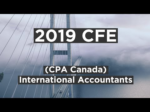 2019 CFE for International Accountants (CPA Canada)