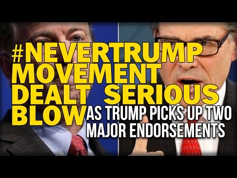 #NEVERTRUMP MOVEMENT DEALT SERIOUS BLOW AS TRUMP PICKS UP TWO MAJOR ENDORSEMENTS