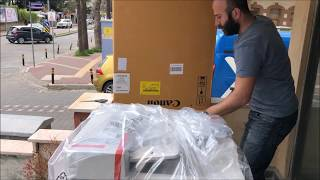 Canon imageRUNNER C3025i unboxing and review A3 color Copier.