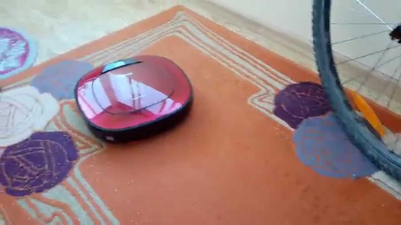 Видео 1 – Обзор робота пылесоса LG Hom-bot square - Уборка
