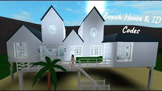 ROBLOX | Welcome to Bloxburg: Beach House + Beach ID Codes