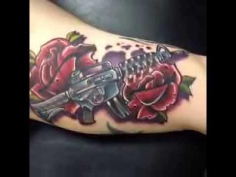 Ar15 Rose Tattoo Youtube