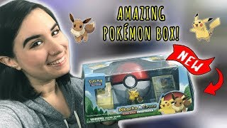 OPENING THE AMAZING *NEW* PIKACHU & EEVEE COLLECTION BOX! | LOST THUNDER BOOSTER PACKS!