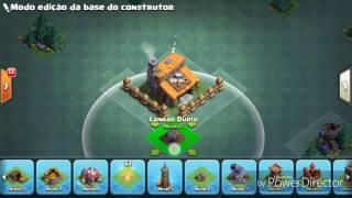 MELHOR LAYOUT DA CASA DO CONSTRUTOR 2.0 (Com esmagador / nível 3) | CLASH OF CLANS