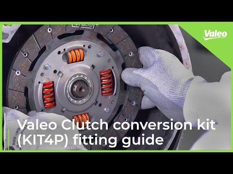 Valeo Clutch conversion kit (KIT4P) fitting guide