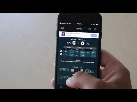 Covers sports betting app point spread betting calculator