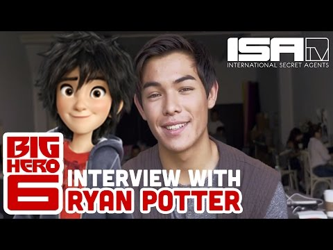 Big Hero 6! w Ryan Potter Hiro Hamada