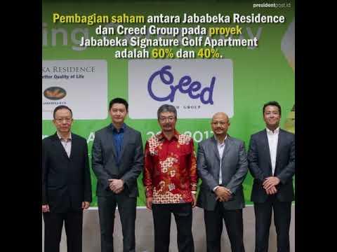 Creed Group dan Jababeka Residence Bangun Signature Golf Apartment