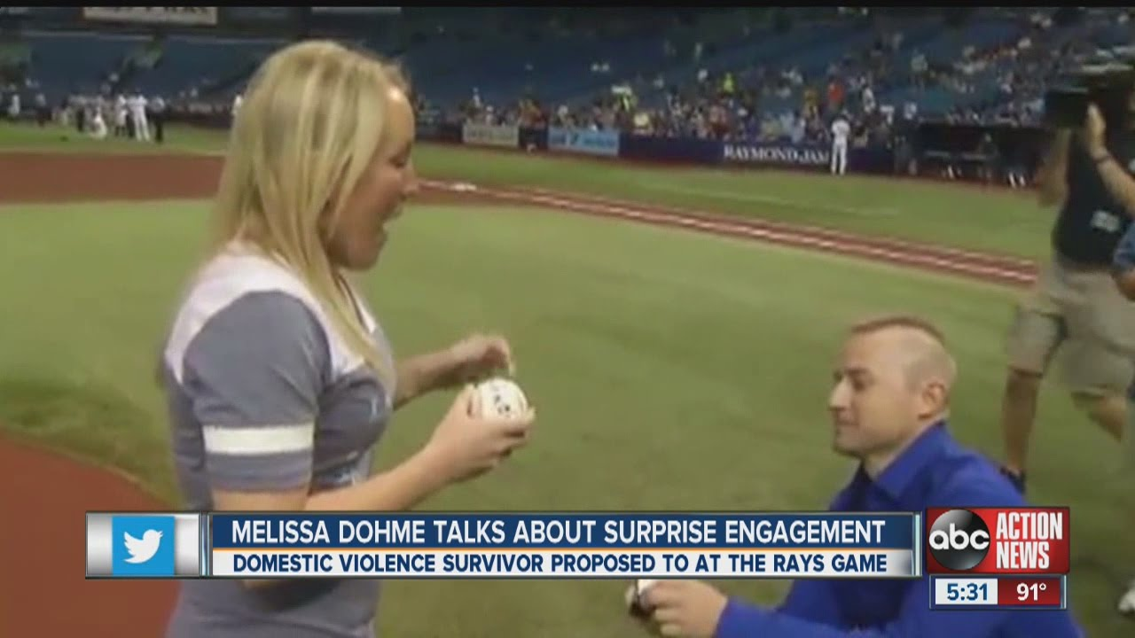 Melissa Dohme and fiance Cameron Hill are talking about their surprise engagement