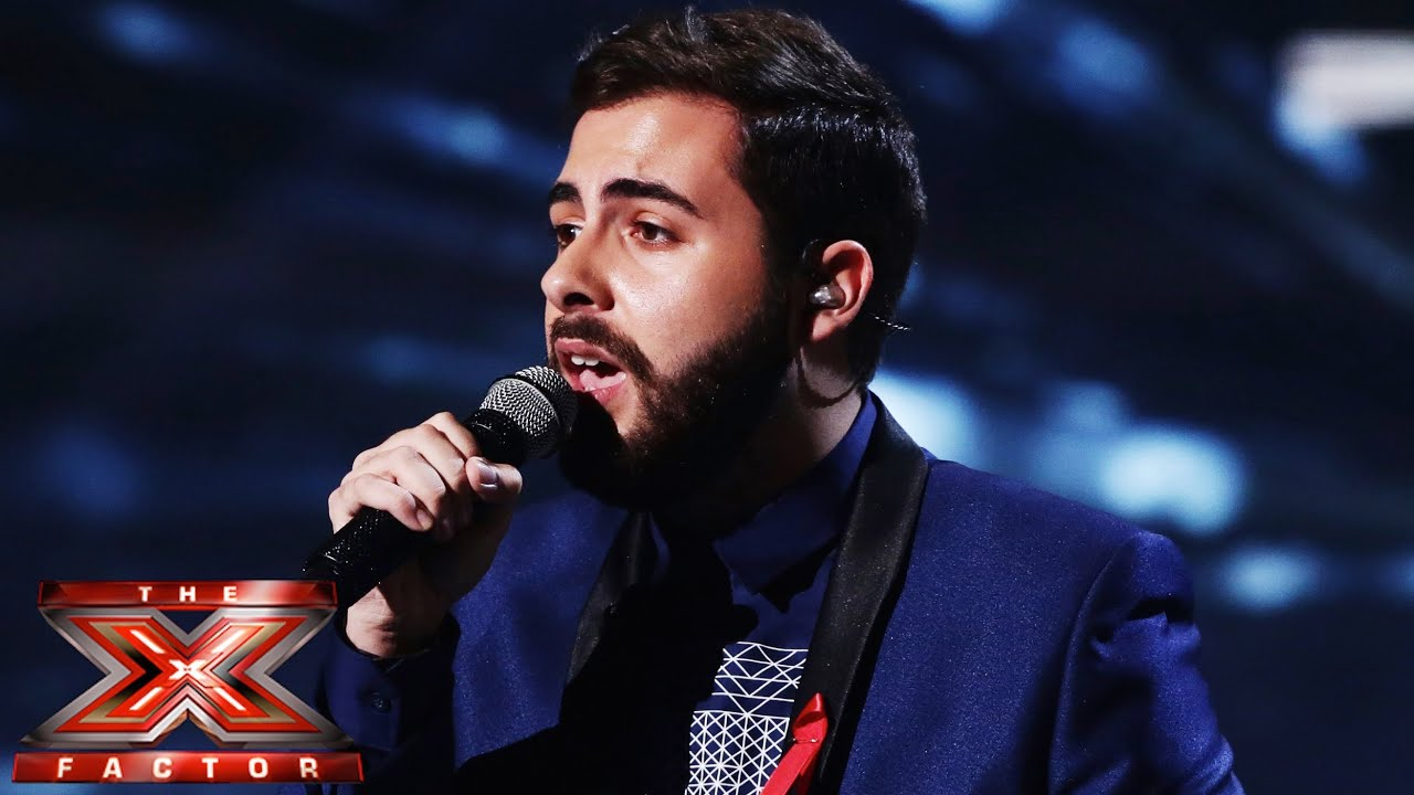 Andrea Faustini Sings Sia S Chandelier Live Week 8 The X Factor Uk 2017 You
