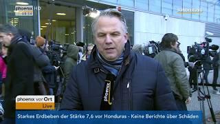 Gerd-Joachim von Fallois zum aktuellen Stand der Sondierung am 10.01.18
