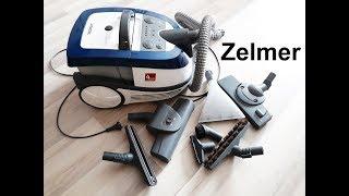моющий пылесос Zelmer Aquawelt 919 (Зелмер) ОТЗЫВ  ОБЗОР насадок