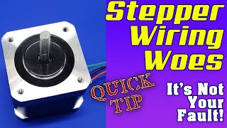 Stepper Wiring Woes - How to get your steppers working in a new 3D Printer Build