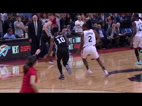 Kawhi Leonard Has Game-Winning Steal Off DeMar DeRozan To Beat San Antonio Spurs
