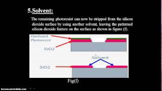 Basic Fabrication steps of chip by Dhanisha Kapadia