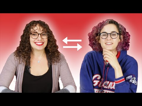 Curly-Haired Women Swap Hair Routines