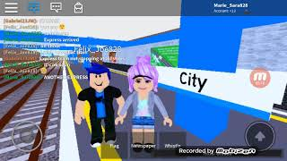 Roblox Trains Transport at city