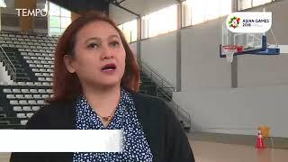 Kesiapan Venue Basket Asian Games 2018