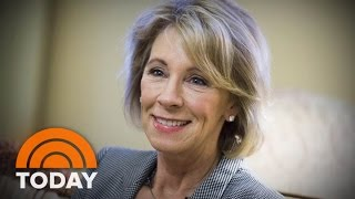Trump Cabinet Choices Betsy Devos And Ryan Zinke Face Confirmation Hearings | TODAY