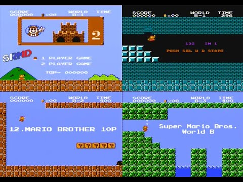 Super Mario Bros. (Bootleg) [NES/FC] - World B