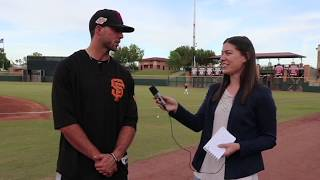 San Francisco LHP Prospect Garrett Williams Interview at Arizona Fall League