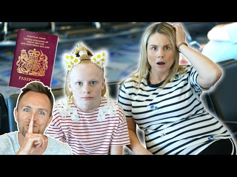 LOST PASSPORTS PRANK ON FAMiLY iN LAS VEGAS! 😥