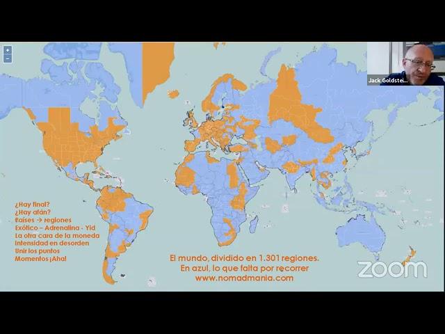 Video conferencia - Viajando por los Rincones del Mundo