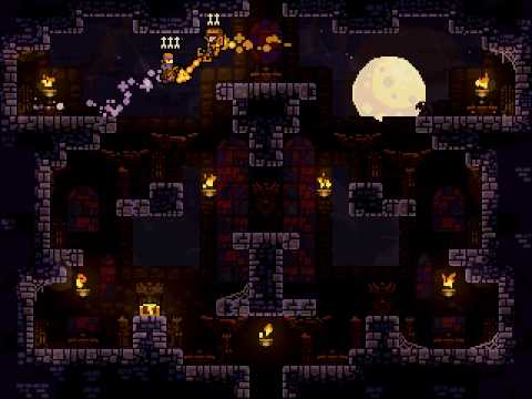 TowerFall Ultimate Jump Critic Attack EPIC MOVE