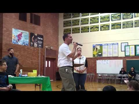 Shaw Heights Middle School Shave-Off 12-19-14 Video 1
