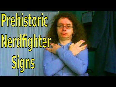 Prehistoric Nerdfighter Signs