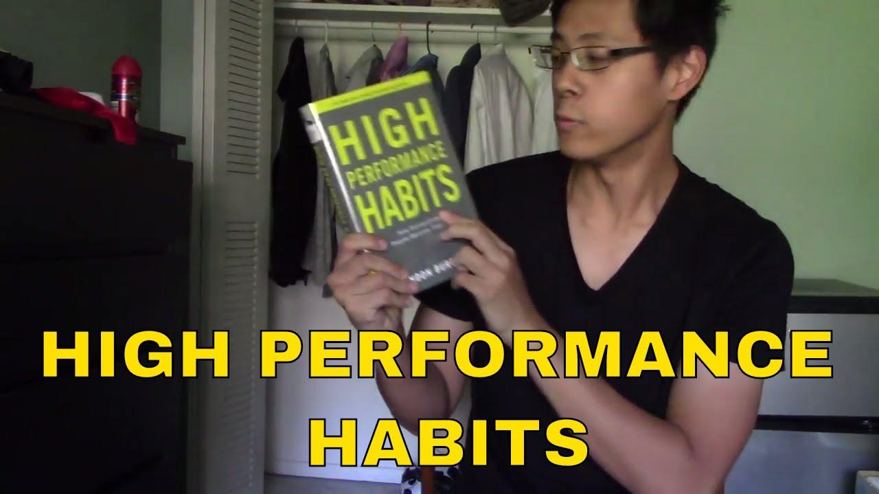 high performance habits summary pdf