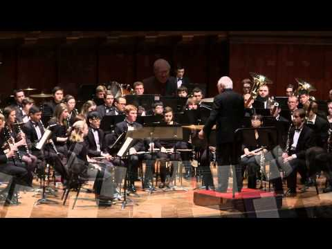 """UMich Symphony Band - Bach - Chorale Prelude BWV 727, Fugue in G Minor, """"The Little,"""" BWV 578"""