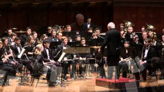 "UMich Symphony Band - Bach - Chorale Prelude BWV 727, Fugue in G Minor, ""The Little,"" BWV 578"