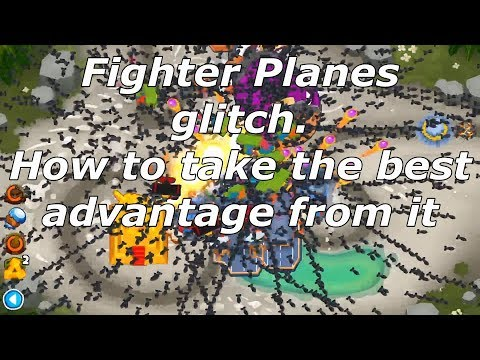 Bloons TD 6 - Everything about the Fighter Planes glitch