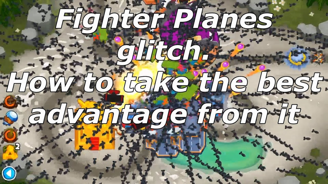 Bloons TD 6 - Everything about the Fighter Planes glitch (BTD6 v9 1) -  Aviation and Airports