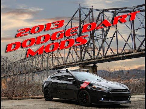 2013 DODGE DART MOD LIST