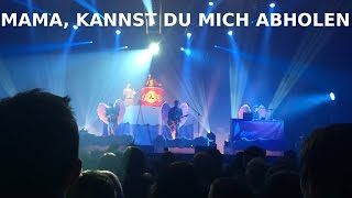 Alligatoah - Mama kannst du mich abholen LIVE // Himmelfahrtskommando Tour 2016  Saarbrücken