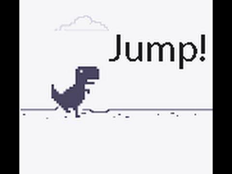 Let's Play: Google Chrome's Flappy TRex Runner