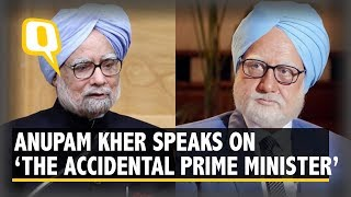 Anupam Kher Addresses Media on the controversy over 'The Accidental Prime Minister'