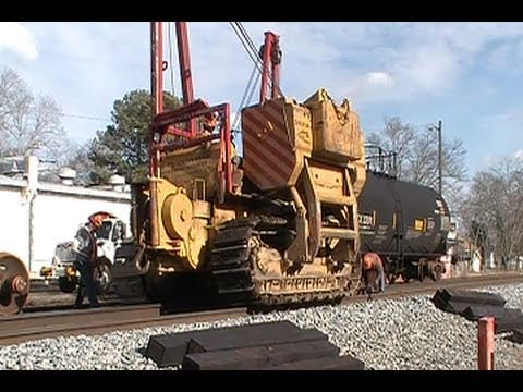 Tank Car Wheel Change Part 1