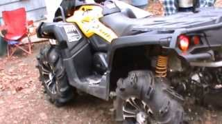 2013 Can Am Outlander XMR 1000 Looney Tuned Exhaust
