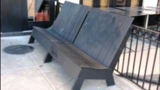 How To Make A Garden Bench.wmv