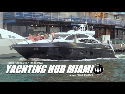 TGIF - Having some fun in the River - Miami River yacht action. Yachtspotter