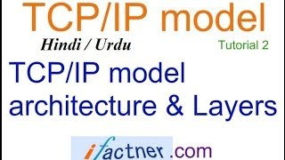 TCP/IP vs OSI model in Hindi Urdu, TCP/IP model protocol suite tutorial lecture 2