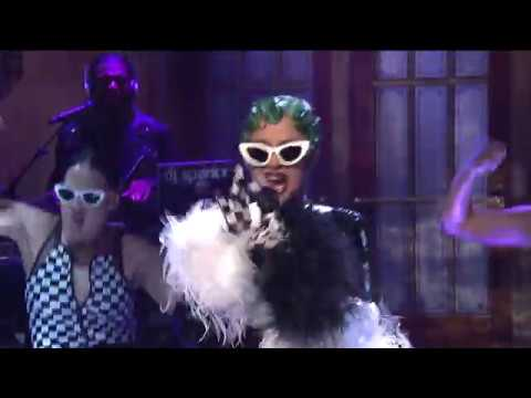 Cardi B - Bartier Cardi/Bodak Yellow Medley [SNL Performance]