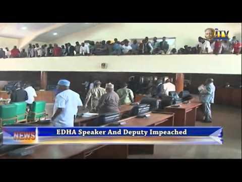 EDHA Speaker And Deputy Impeached
